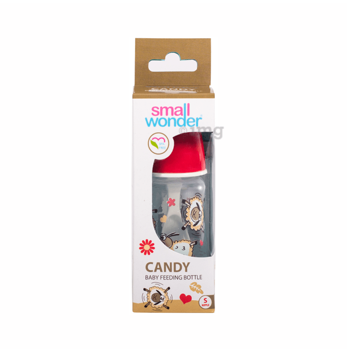 Small Wonder Candy Baby Feeding Bottle S Red