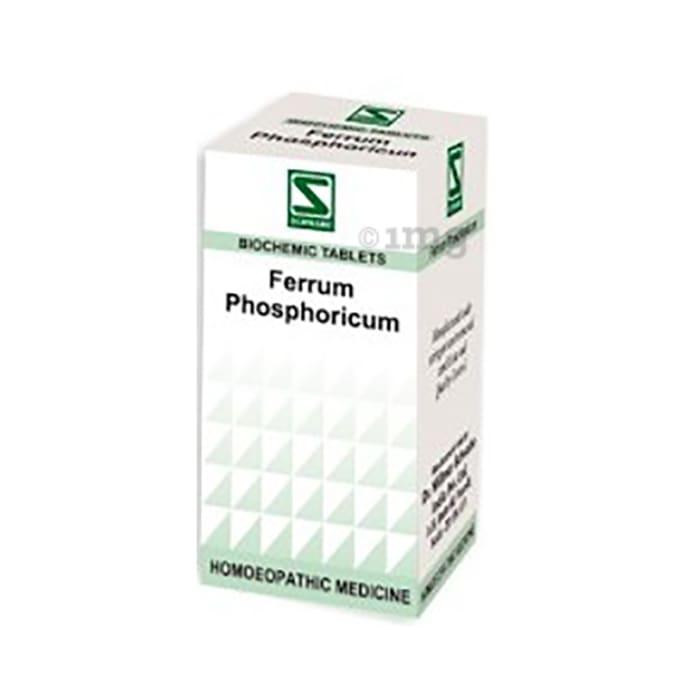 Dr Willmar Schwabe India Ferrum Phosphoricum Biochemic Tablet 200X