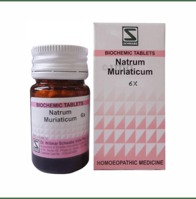 Dr Willmar Schwabe India Natrum Muriaticum Biochemic Tablet 6X