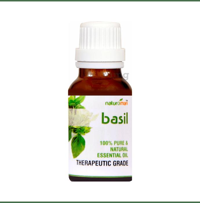 Naturoman Basil Pure & Natural Essential Oil