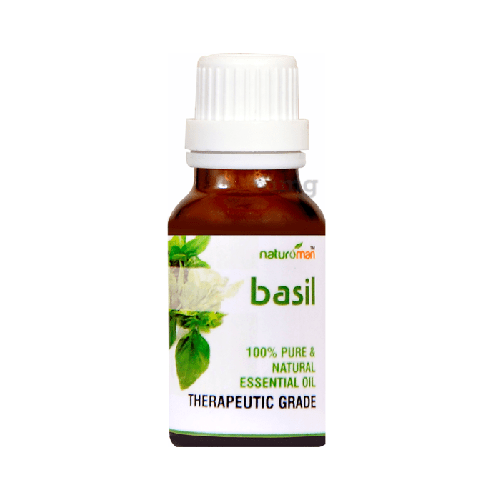 Naturoman Basil Pure and Natural Essential Oil