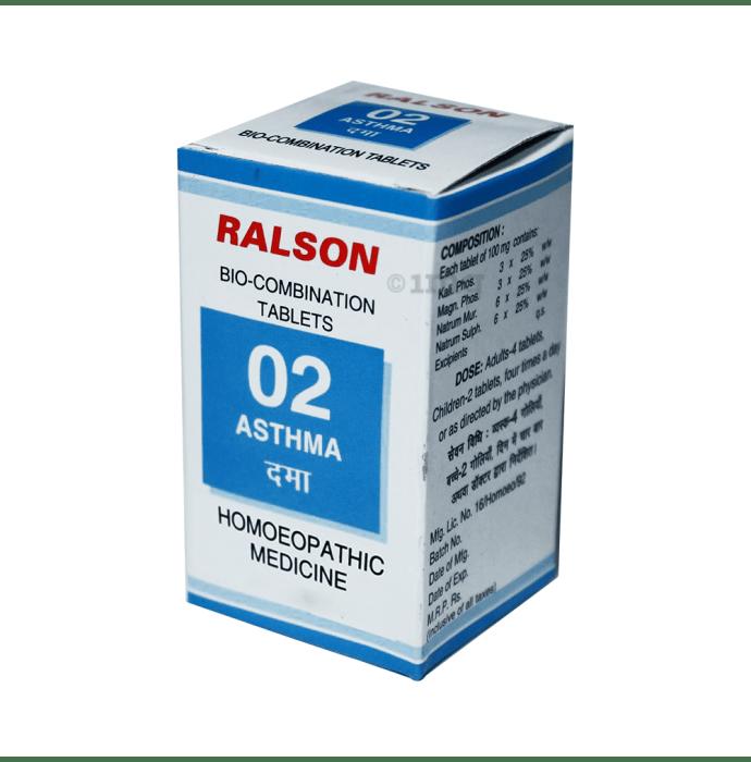 Ralson Remedies Bio-Combination 02 Tablet