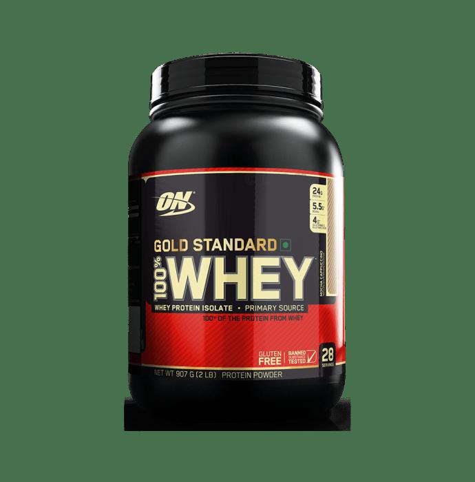 Optimum Nutrition (ON) Gold Standard 100% Whey Protein Powder Mocha Cappuccino