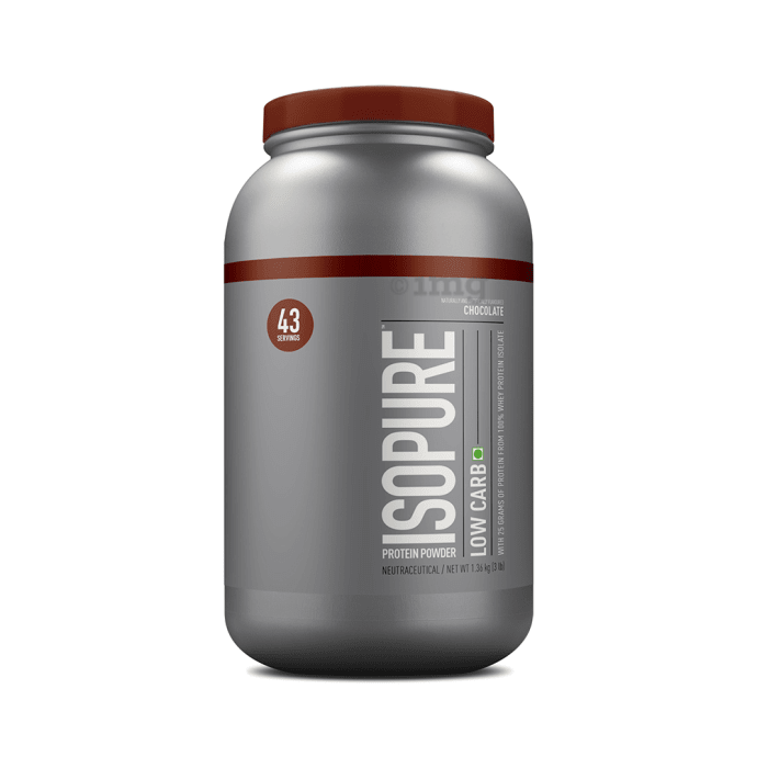 IsoPure Low Carb 100% Whey Protein Isolate Dutch Chocolate