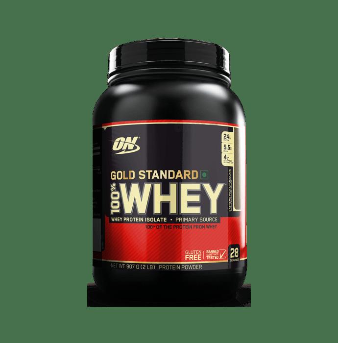 Optimum Nutrition (ON) Gold Standard 100% Whey Protein Powder Extreme Milk Chocolate