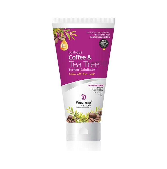 Peaurega Naturals Lustrous Coffee and Tea Tree Tender Exfoliator