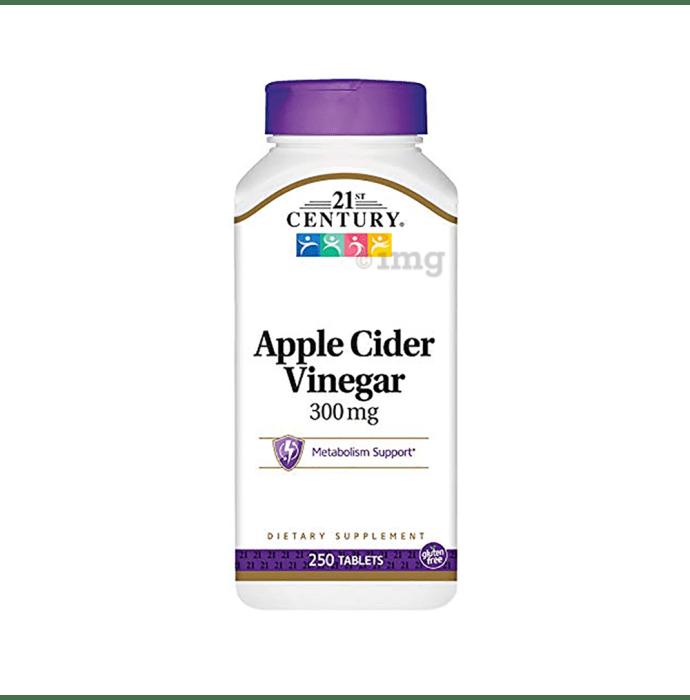 21st Century Apple Cider Vinegar 300mg Tablet