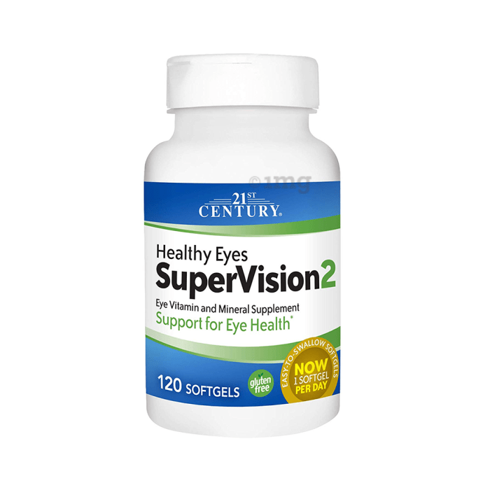 21st Century Healthy Eyes SuperVision Softgels
