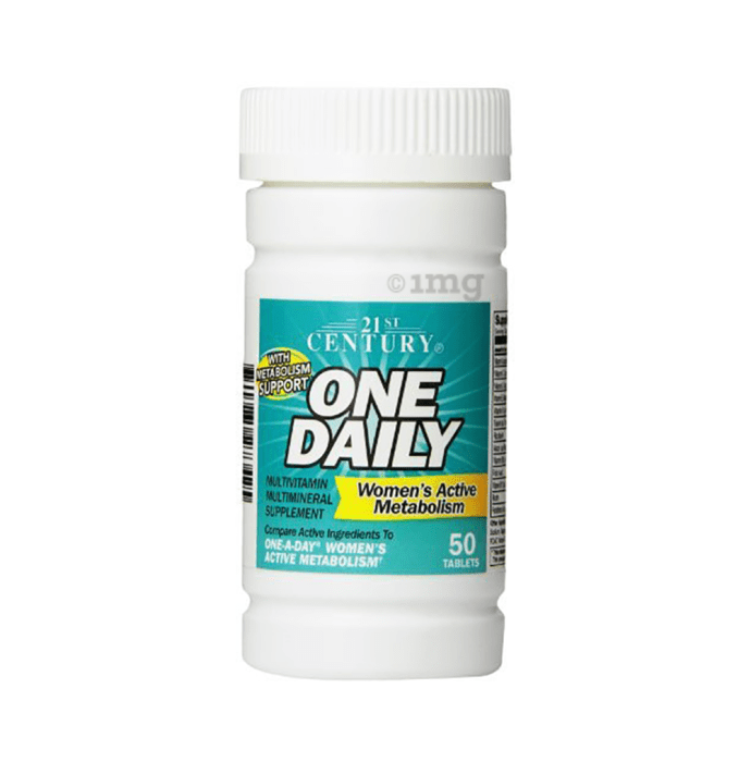21st Century One Daily, Women's Active Metabolism, Multivitamin Multimineral Tablet