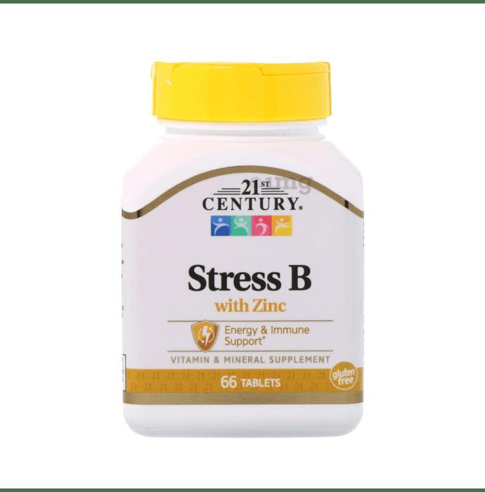 21st Century Stress B with Zinc Tablet