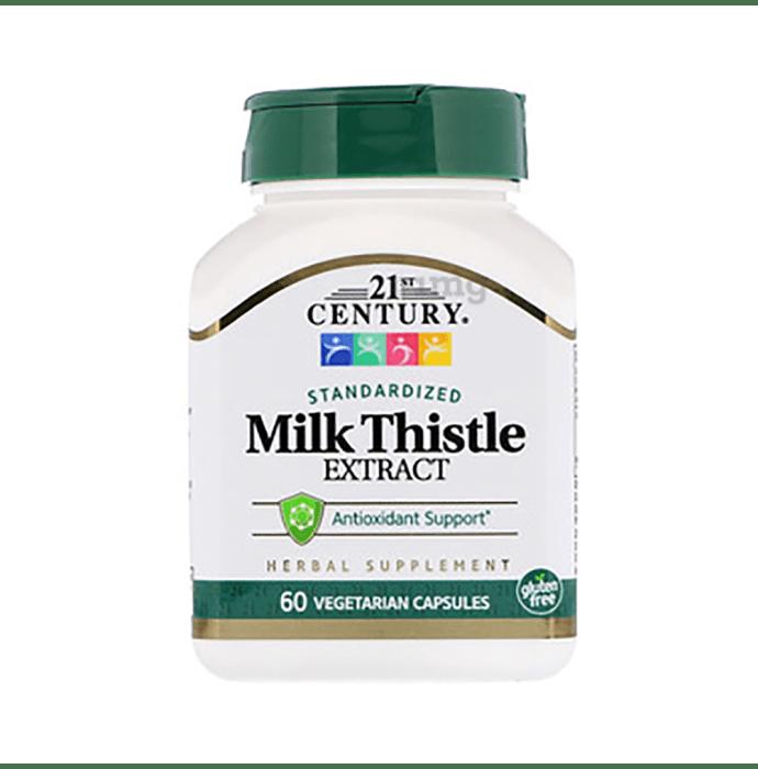 21st Century Milk Thistle Extract Vegetarian Capsules