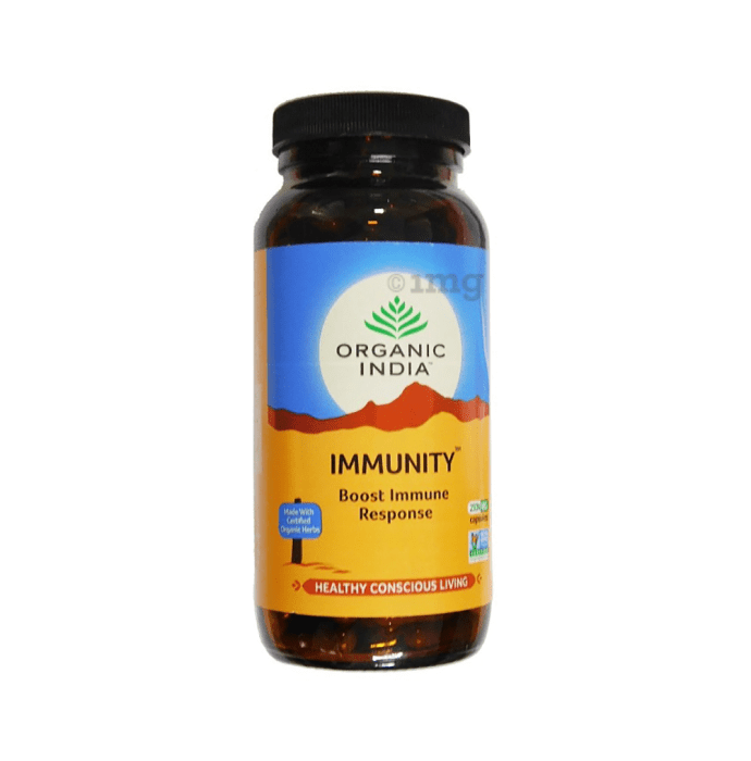 Organic India Immunity Veg Capsule