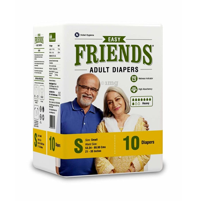 Friends Easy Adult Diaper S