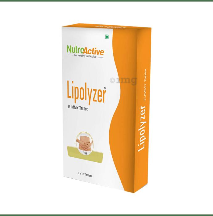 NutroActive Lipolyzer Tummy Tablet