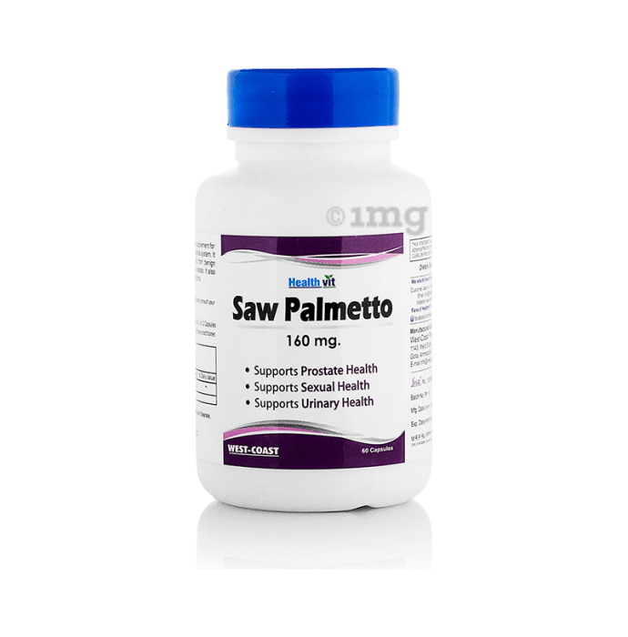 HealthVit Saw Palmetto 160mg Capsule