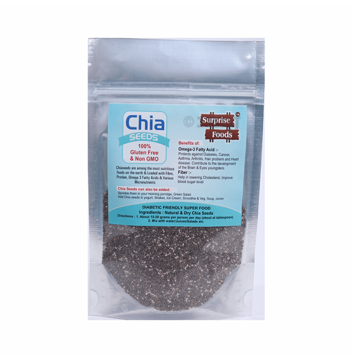 Surprise Foods Chia Seeds Gluten Free