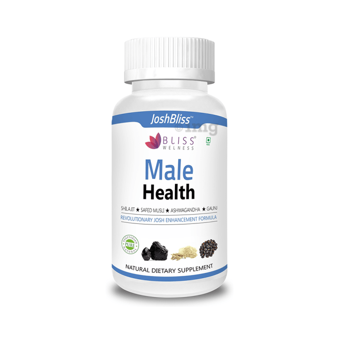 Bliss Welness Male Health Vegetarian Capsule