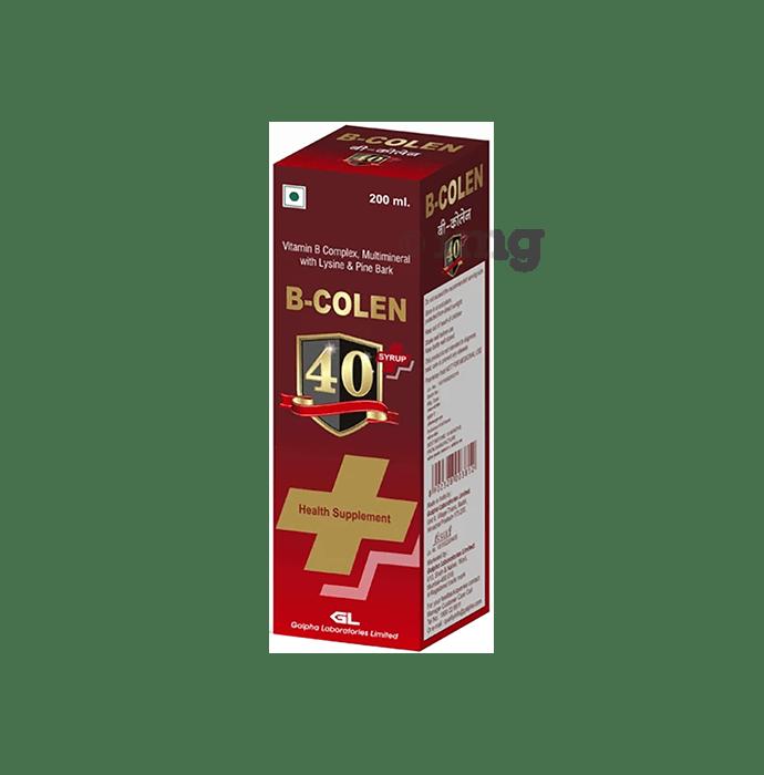 B Colen  40 Plus Syrup