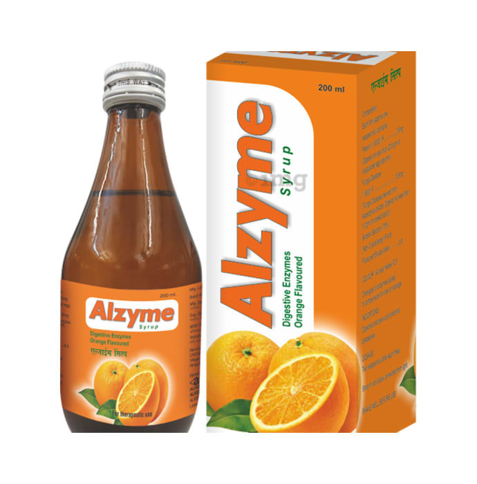 Alzyme Syrup Orange