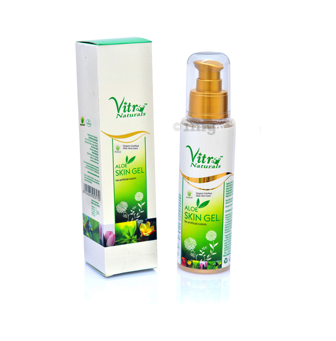 Vitro Naturals Aloe Skin Gel Premium