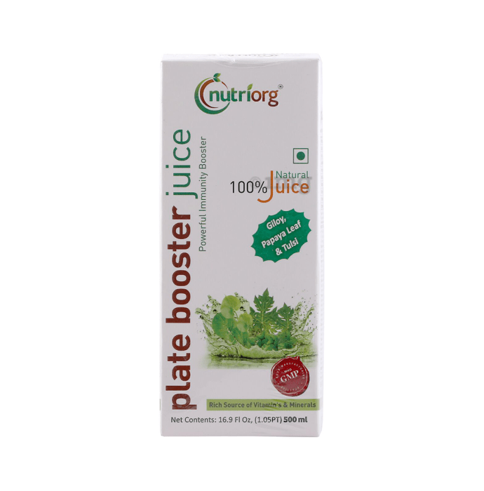 Nutriorg Plate Booster Juice