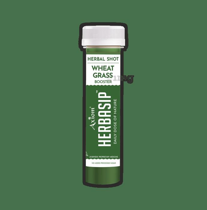 Axiom Herbasip Wheatgrass Herbal Shot (50ml Each)