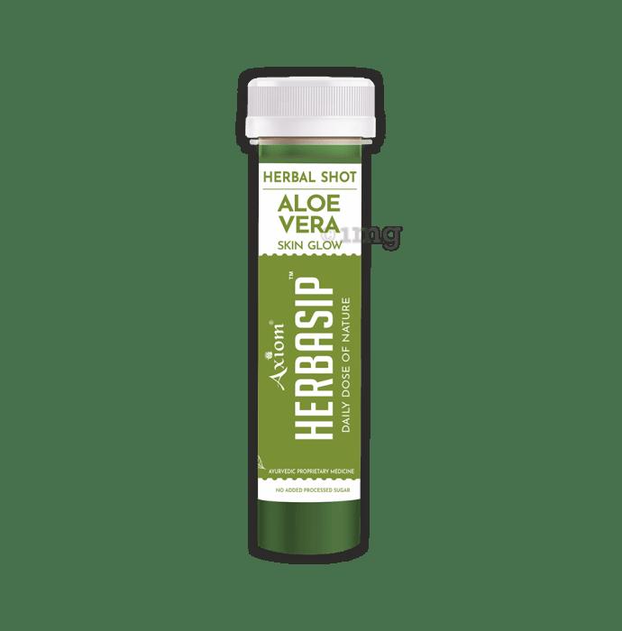 Axiom Herbasip Aloevera Herbal Shot (50ml Each)