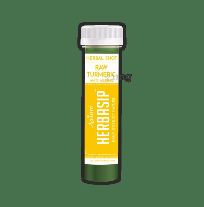 Axiom Herbasip Raw Turmeric Herbal Shot (50ml Each)