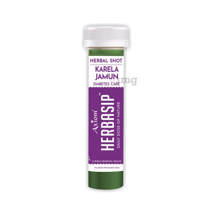 Axiom Herbasip Karela Jamun Herbal Shot (50ml Each)