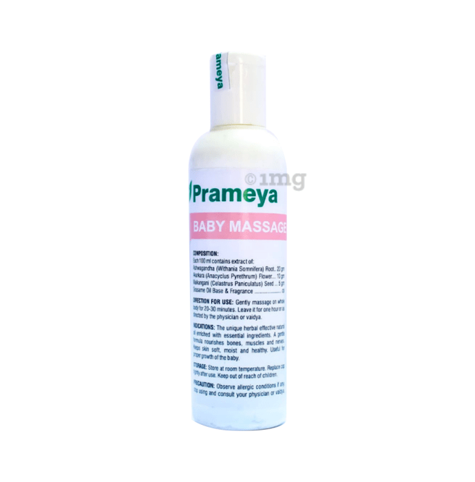 Prameya Herbals Baby Massage Oil