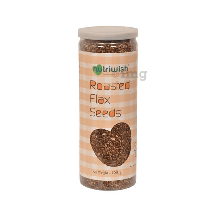 Nutriwish Flax Seeds Roasted