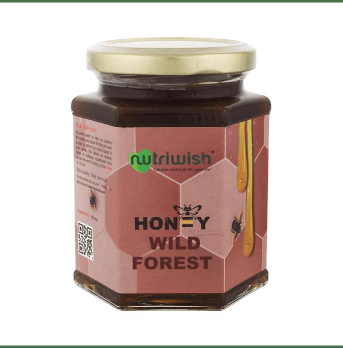 Nutriwish 100% Pure Organic Honey Wild Forest