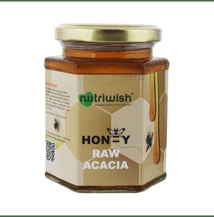 Nutriwish 100% Pure Organic Honey Raw Acacia