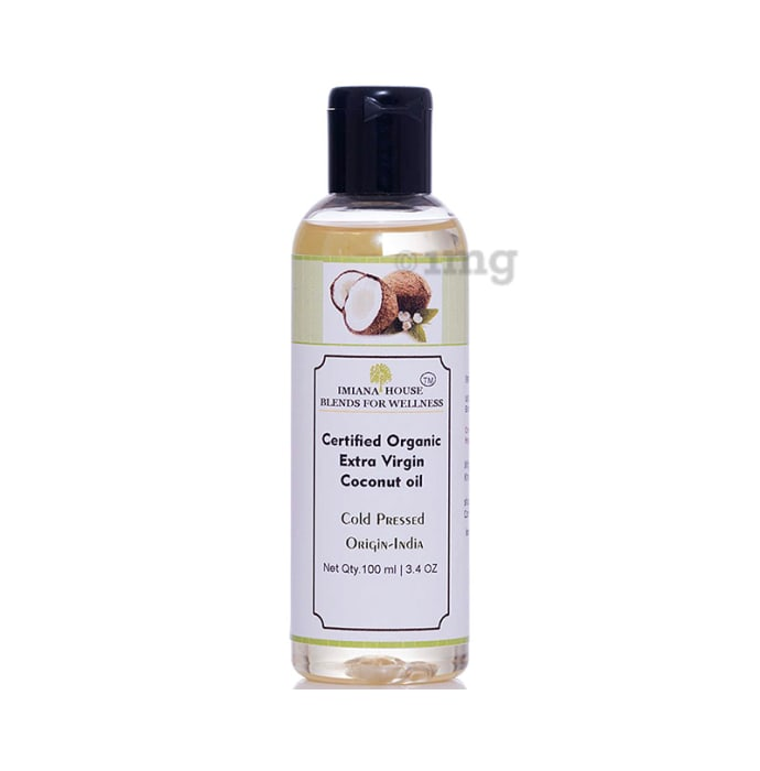 Imiana Organic Extra Virgin Coconut Cold Pressed Oil