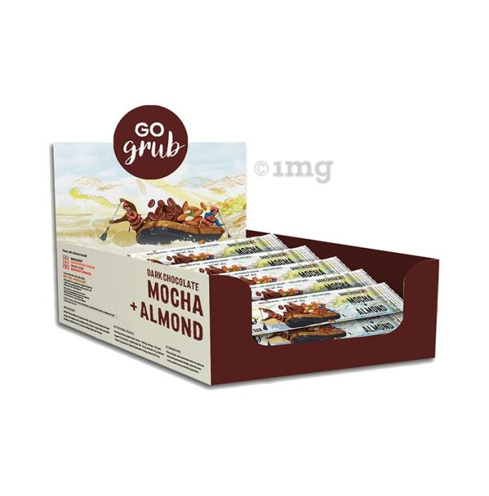 Go Grub Snack Bar (30gm Each) Dark Chocolate Mocha Almond