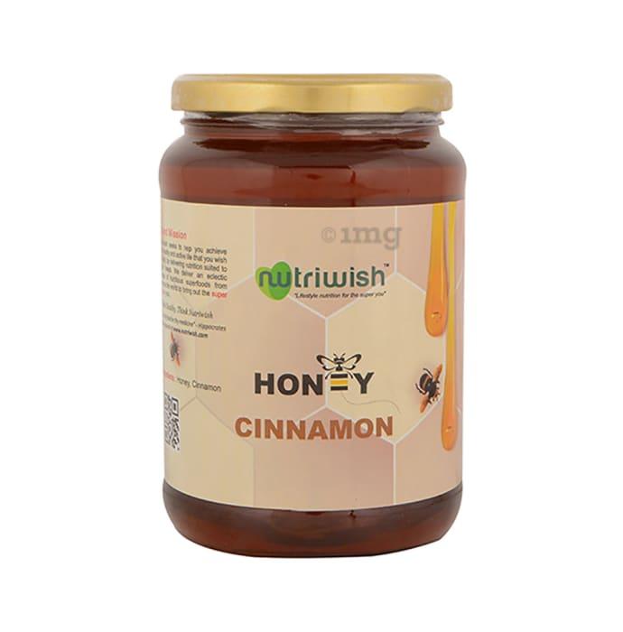 Nutriwish 100% Pure Organic Honey Cinnamon