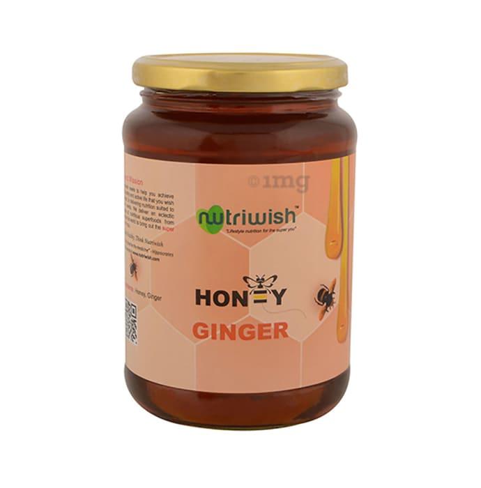 Nutriwish 100% Pure Organic Honey Ginger