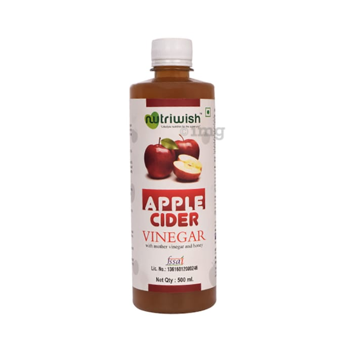 Nutriwish Apple Cider Vinegar with Mother Vinegar and Honey