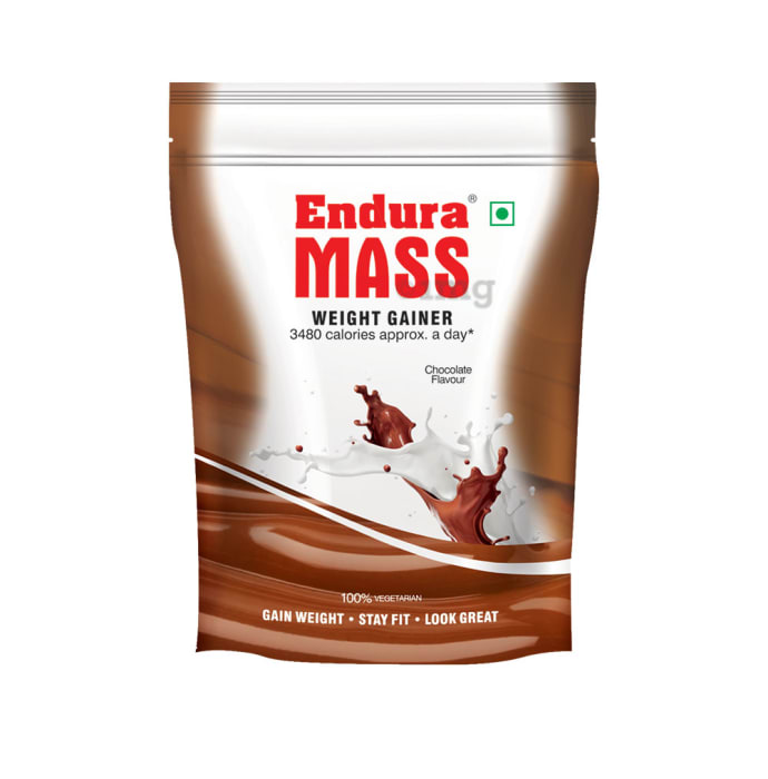 Endura Mass Weight Gainer Chocolate Refill