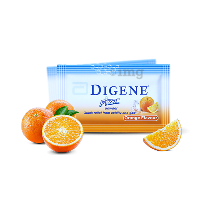 Digene Fizz Powder Orange