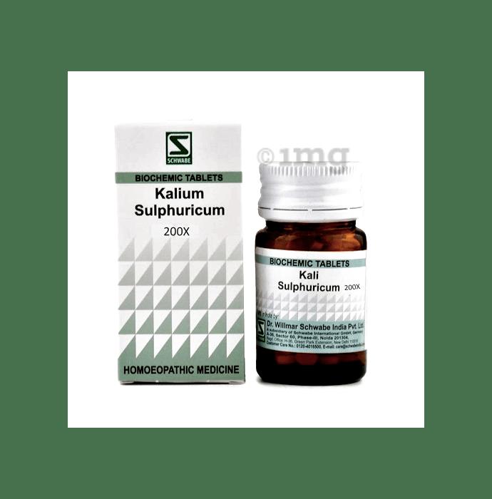 Dr Willmar Schwabe India Kali Sulphuricum Biochemic Tablet 200X