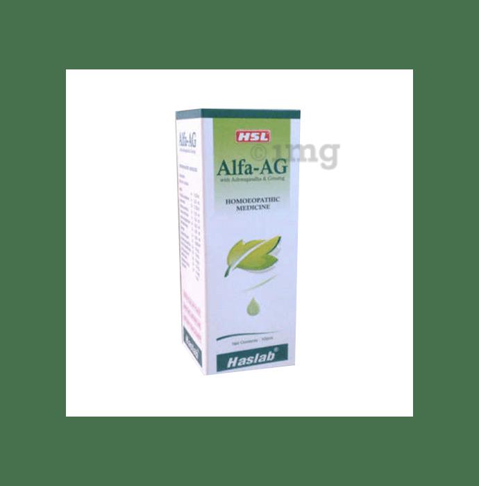 Haslab Alfa-AG With Ashwagandha & Ginseng Tonic