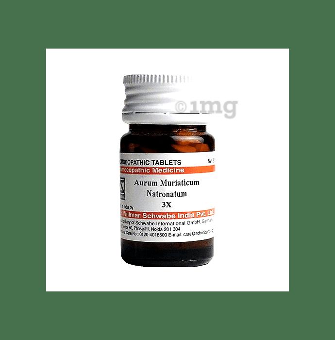 Dr Willmar Schwabe India Aurum Muriaticum Natronatum Trituration Tablet 3X
