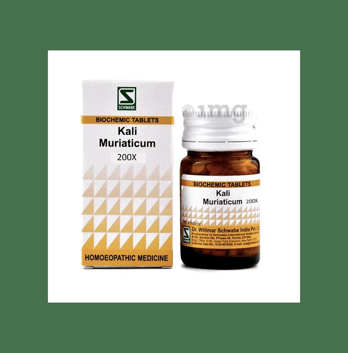 Dr Willmar Schwabe India Kali Muriaticum Biochemic Tablet 200X