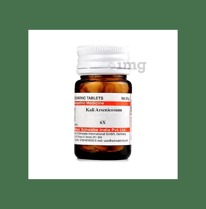 Dr Willmar Schwabe India Kali Arsenicosum Trituration Tablet 3X