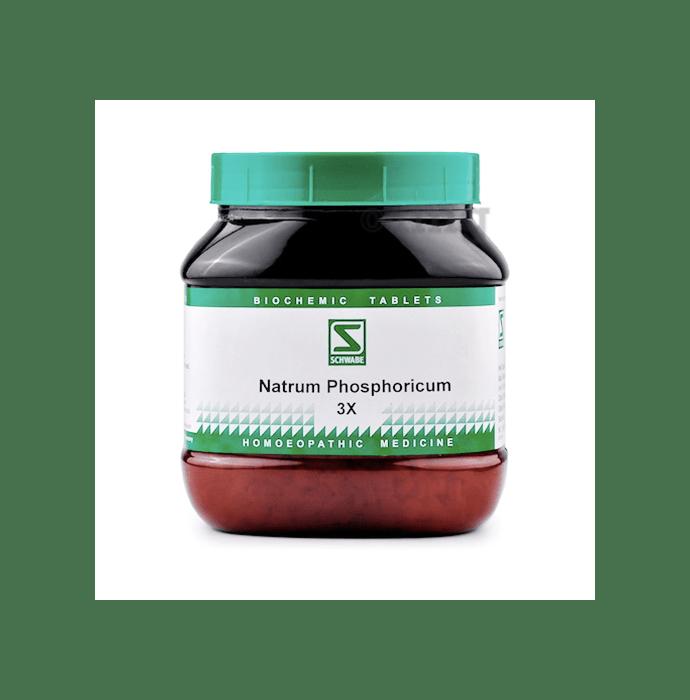 Dr Willmar Schwabe India Natrum Phosphoricum Biochemic Tablet 3X