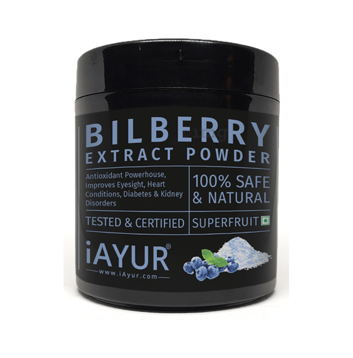 iAYUR Bilberry Extract Powder