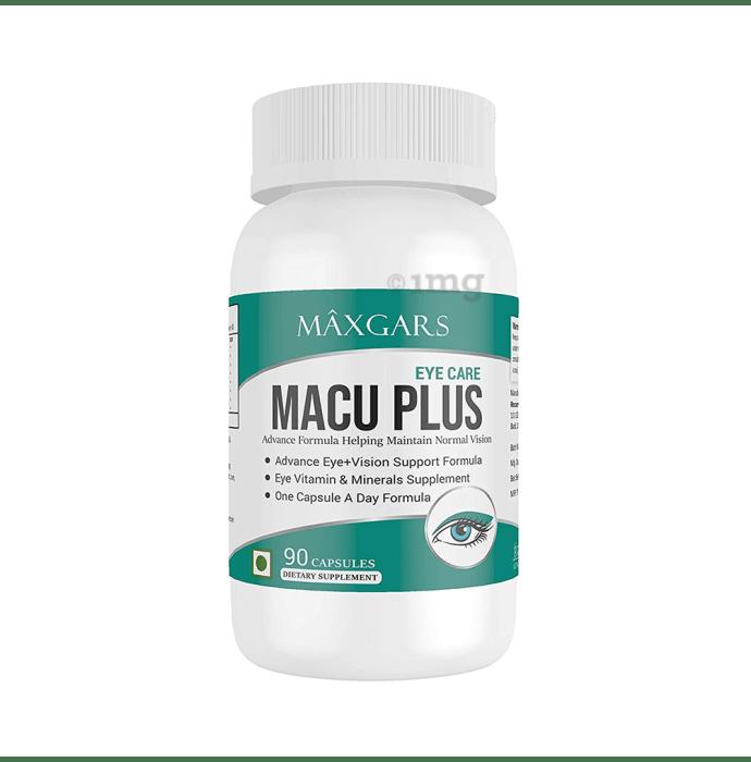 Maxgars Macu Plus Eye Care Capsule