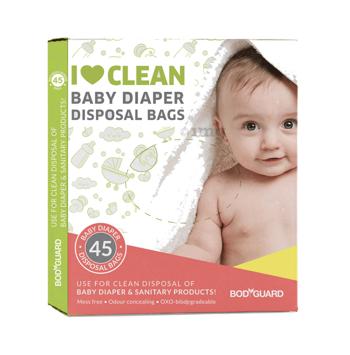 Bodyguard Baby Diapers & Sanitary Disposal Bag