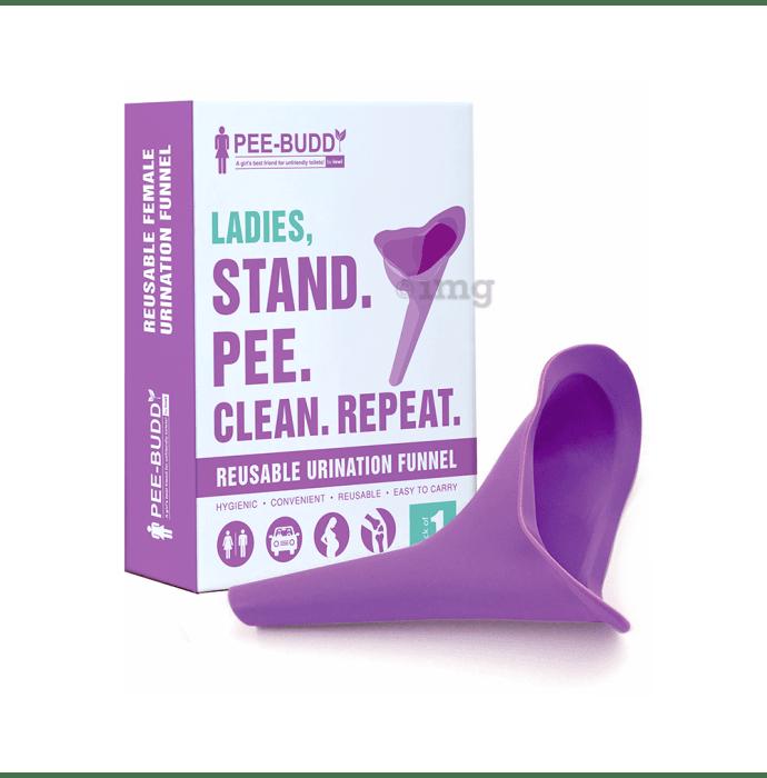 PeeBuddy Stand and Pee Reusable Urination Funnel